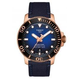 Tissot T120.407.37.041.00 Herren-Taucheruhr Seastar 1000 Powermatic 80 Blau