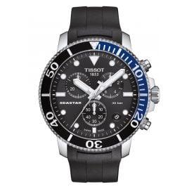 Tissot T120.417.17.051.02 Men's Diver Watch Chronograph Seastar 1000 Black