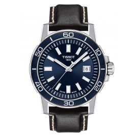 Tissot T125.610.16.041.00 Men's Wristwatch Supersport Gent Black/Blue
