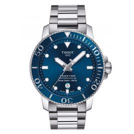 Tissot T120.407.11.041.03 Herren-Taucheruhr Seastar 1000 Powermatic 80 Blau