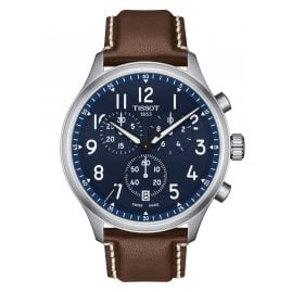 Tissot T116.617.16.042.00 Herren-Chronograph Chrono XL Vintage Braun/Blau