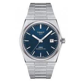 Tissot T137.407.11.041.00 Herrenuhr Automatik PRX Powermatic 80 Blau