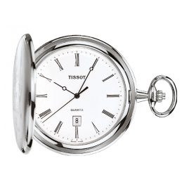 Tissot T83.6.508.13 Pocket Watch Savonette Quartz