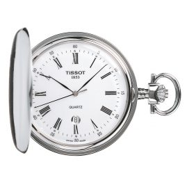 Tissot T83.6.553.13 Pocket Watch Savonette Quartz