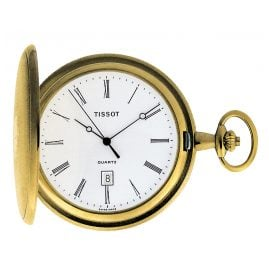 Tissot T83.4.508.13 Pocket Watch Savonette Quartz