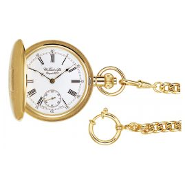 Tissot T83.4.451.13 Pocket Watch Savonette Manual Winding
