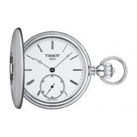Tissot T867.405.19.013.00 Pocket Watch Savonette Hand Winding