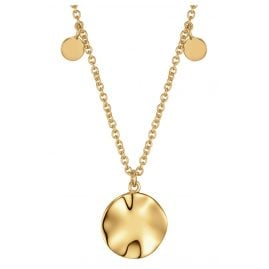 Ania Haie N007-04G Women's Necklace Ripple Drop Discs
