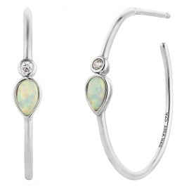 Ania Haie E014-04H Damen-Ohrringe Opal Colour Raindrop