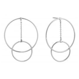 Ania Haie E002-04H Silver Ladies´ Earrings Modern Front