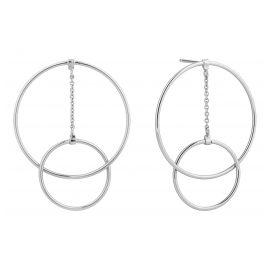 Ania Haie E002-04H Silber Damen-Ohrringe Modern Front