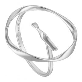 Ania Haie R015-01H Silver Ladies´ Ring Twist Circle