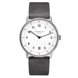 Sternglas STR01/311 Quartz Watch Tero Limited Edition Grey / White