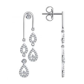 Sokolov 94023659-2 Silver Women's Earrings