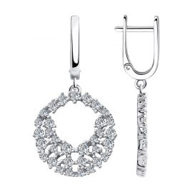Sokolov 94023723 Silver Earrings