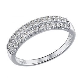 Sokolov 94011535 Silver Ladies' Ring