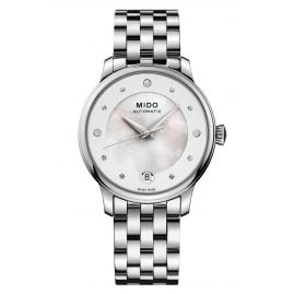 Mido M039.207.11.106.00 Automatic Women's Watch Baroncelli Lady Day