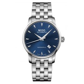 Mido M8600.4.15.1 Men's Automatic Watch Baroncelli Midnight Blue Gent