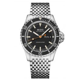 Mido M026.830.11.051.00 Automatic Diving Watch Ocean Star Tribute Black