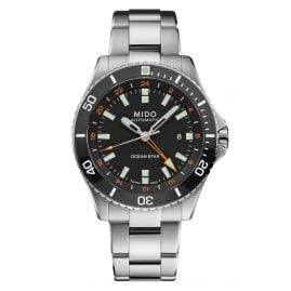 Mido M026.629.11.051.01 Automatic Diving Watch Ocean Star GMT Black