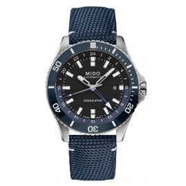 Mido M026.629.17.051.00 Automatic Diving Watch Ocean Star GMT Dark Blue