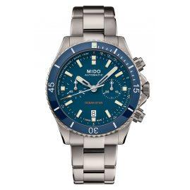 Mido 026.627.44.041.00 Titanium Diver's Watch Automatic Chrono Ocean Star