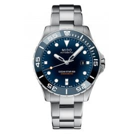 Mido M026.608.11.041.01 Automatic Diver's Watch for Men Ocean Star 600 Blue