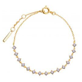 P D Paola PU01-108-U Damen-Armband Victoria Silber vergoldet
