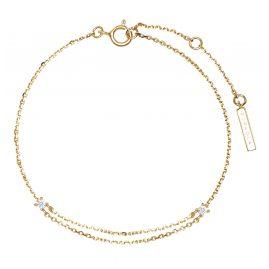 P D Paola PU01-074-U Women's Bracelet Nia Gold Plated Silver