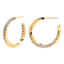 P D Paola AR01-239-U Women's Hoop Earrings