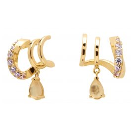P D Paola AR01-249-U Women's Hoop Earrings Lumiere