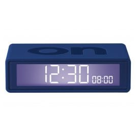 Lexon LR151DB9 Alarm Clock Flip+ Travel Dark Blue