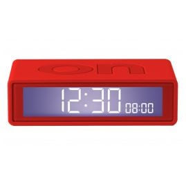 Lexon LR151R9 Alarm Clock Flip+ Travel Red