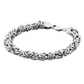 Save Brave SBB-DEAN Men's Bracelet Byzantine Stainless Steel Dean