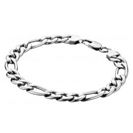 Save Brave SBB-KEITH Men's Bracelet Figaro Stainless Steel Keith