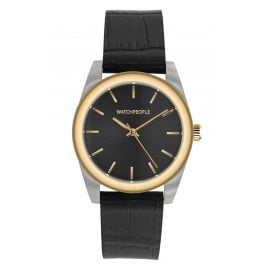 Watchpeople BSL021-02 Brown Sugar Damen-Armbanduhr Audrey Bicolor Schwarz