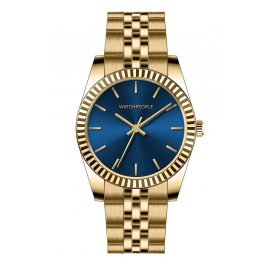 Watchpeople BSL041-01 Brown Sugar Damenuhr Grace Goldfarben/Blau