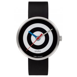 Walter Gropius WG005-07 Unisex Armbanduhr J. Albers Schwarz/Weiß