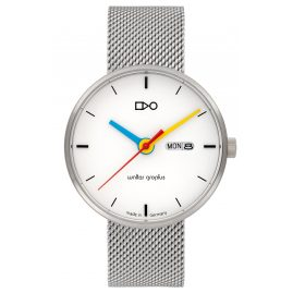 Walter Gropius WG007-03M Armbanduhr in Unisexgröße Simplex Meshband