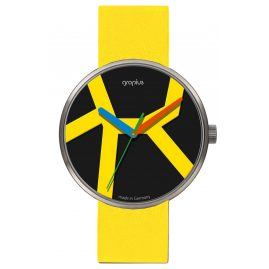 Walter Gropius WG011-03 Wristwatch Move with Yellow Leather Strap