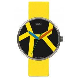 Walter Gropius WG011-03 Armbanduhr Move mit Lederband Gelb