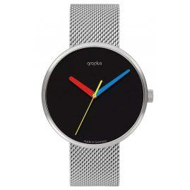 Walter Gropius WG017-02M Unisex-Armbanduhr Simplex mit Meshband