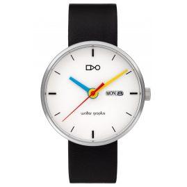 Walter Gropius WG007-03S Armbanduhr Simplex Schwarz/Weiß