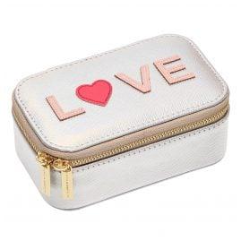 Estella Bartlett EBP4450 Schmuckbox Mini Silberfarben Love