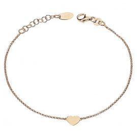 Amen BRHR3 Damen-Armband Herz Rosé