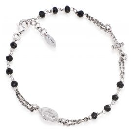 Amen from the Rosari collection timeless bracelet made of polished sterling