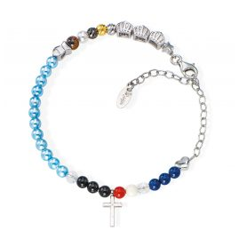 Amen BRVIGE Damen-Armband Vita Christi 925 Silber