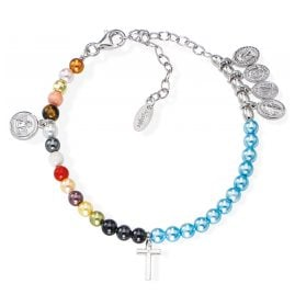 Amen BRVIMA Women's Bracelet Vita Maria 925 Silver