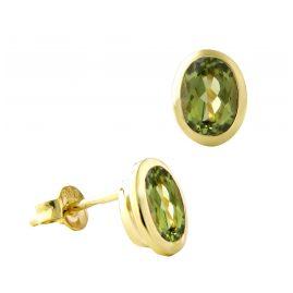 Acalee 70-1017-04 Damen-Ohrringe Ohrstecker Gold 333 / 8K mit Peridot