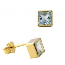 Acalee 70-1025-01 Ohrringe Gold 333 / 8K mit Topas